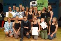 Taneční skupina Hungry Students z Gymnázia Jeseník, vítěz soutěže The School Dance 2015.