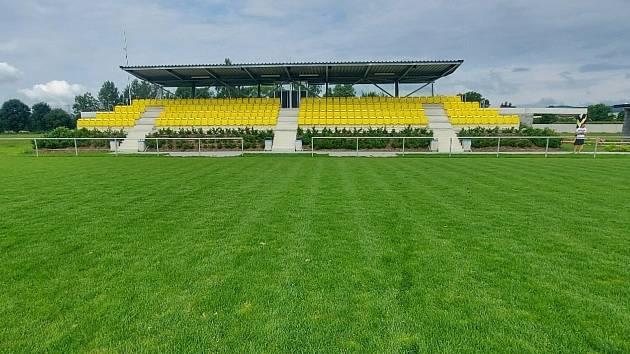 Nový sportovní areál v Postřelmově se slavnostně otevře v sobotu 31. července