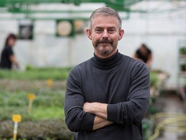 Karel Rataj, majitel firmy Rataj akvaristika