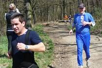 Snímek z běhu v Lošticích