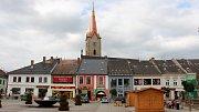 Dominanta Mohelnice - Městská věž u kostela sv. Tomáše z Canterbury