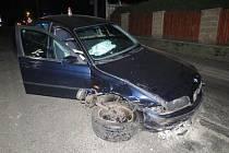 Nehoda v Úsově
