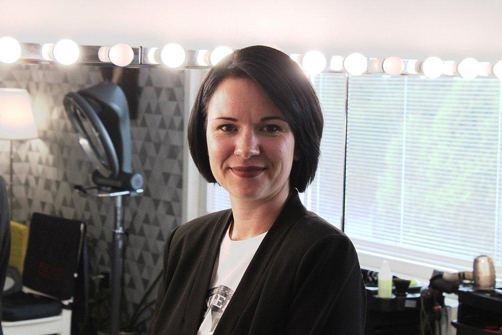 Kadeřnice Martina Odstrčilová v roce 2019