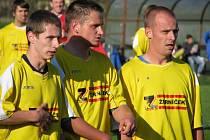 Fotbalisté lídra fotbalové župy týmu Štítů