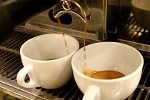 Káva.