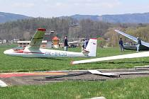 Sportovní stroje na šumperském letiště startují zatím bez omezení