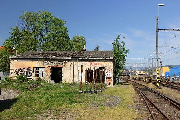 Místo činu, kde se v Šumperku odehrálo brutální napadení.