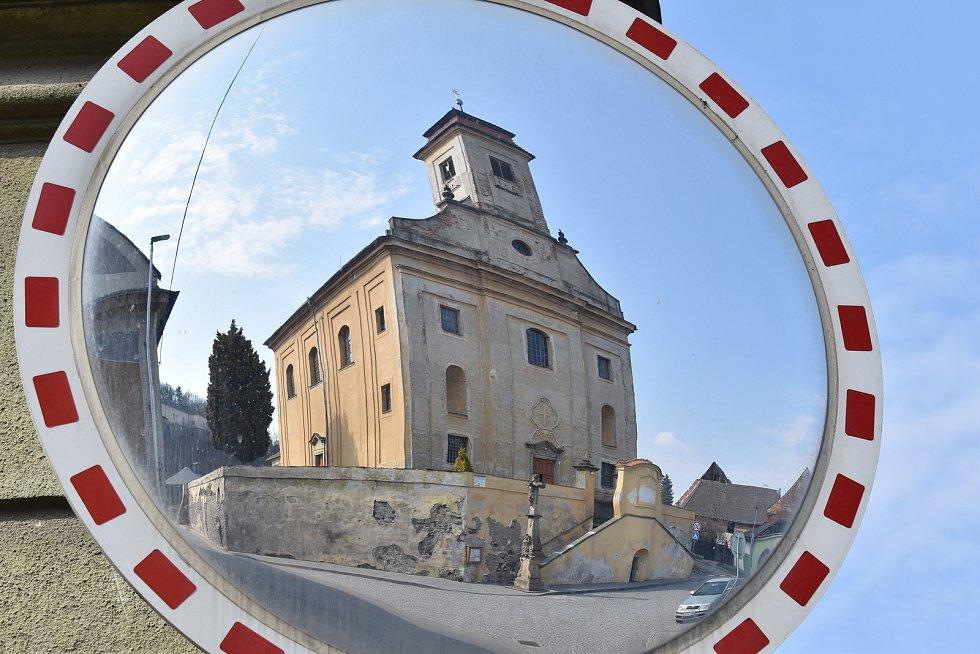 Město Úsov - kostel