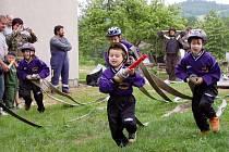 Olšanští hasiči jsu pyšní především na své nejmladší členy