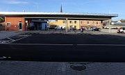 Nový autobusový terminál v Mohelnici.