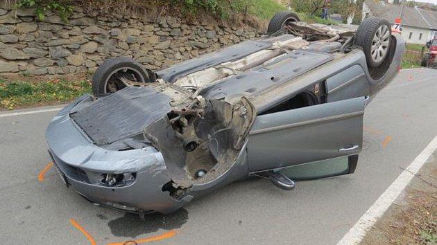 Nehoda v Dlouhomilově