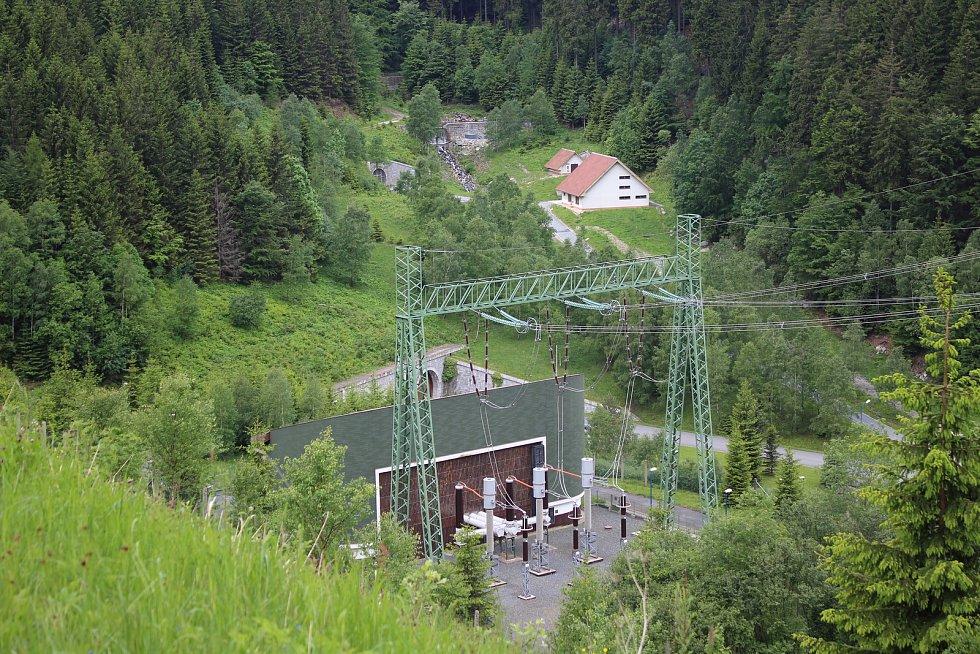 Přečerpávací vodní elektrárna Dlouhé stráně