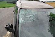 Nehoda mezi obcemi Lesnice a Sudkov