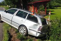 Nehoda 6. července v Petrově nad Desnou.