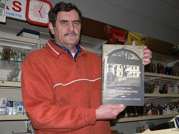 Miroslav Winter se svou knihou