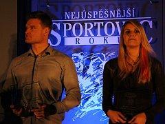 Slavnostní vyhlašování nejlepších sportovců Jesenicka za rok 2014.