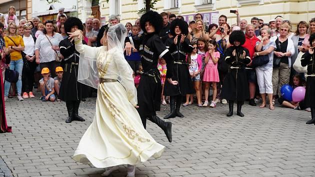 Mezinárodní folklorní festival Šumperk. Ilustrační foto