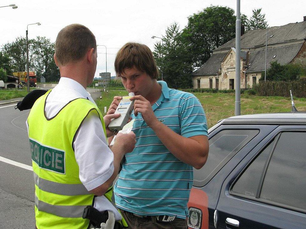 Velká policejní akce zaměřená na motoristy na silnici I/35 z Mohelnice směrem na Moravskou Třebovou se konala v pondělí 16. srpna v odpoledních hodinách