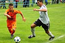 Zábřeh (oranžové dresy) versus Ústí nad Orlicí, hráno v Loučné nad Desnou