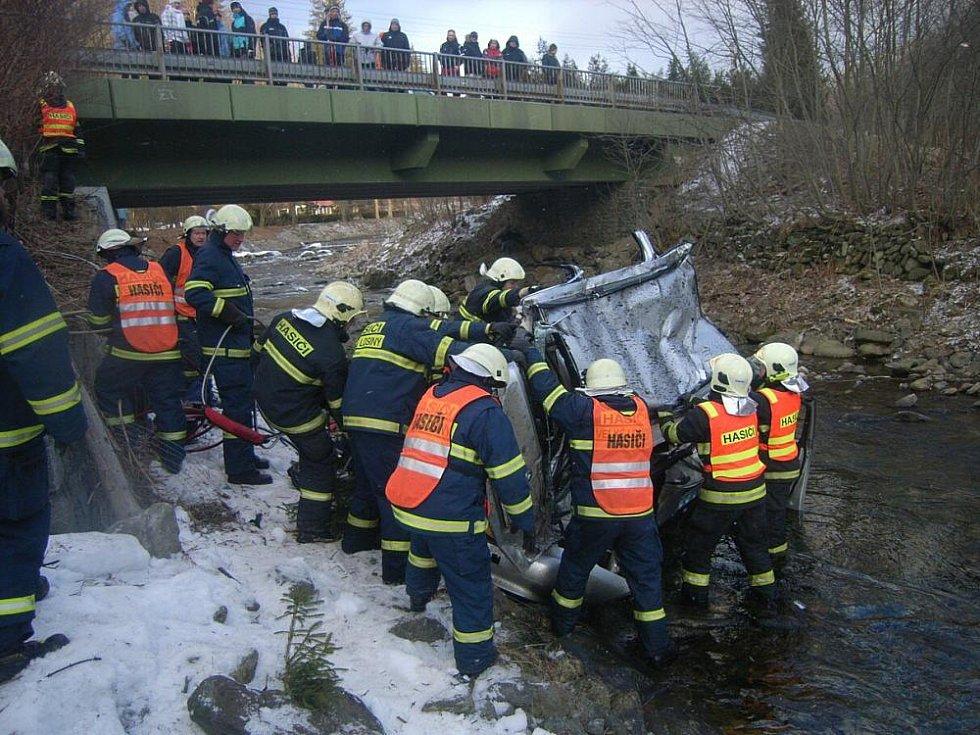 Tragická nehoda v Koutech nad Desnou