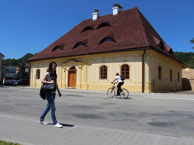 Opravená budova Katovny v Jeseníku