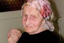 Žofie Selucká z Jeseníku se dožila sta let.