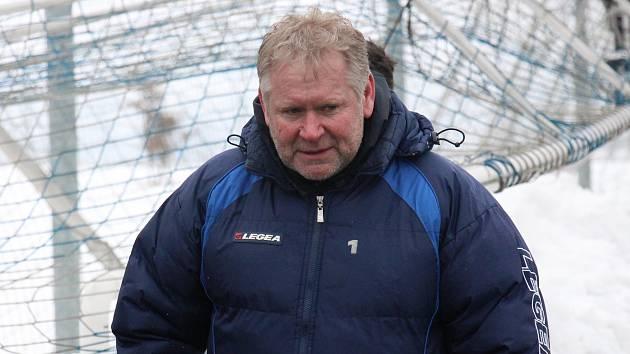 Zábřežský trenér Jaroslav Rolinek