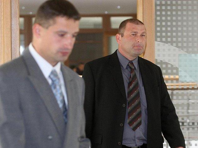 Jakub Kunčar a Michal Jehurnov před ostravským soudem