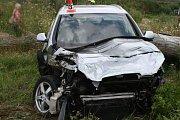 Nehoda na přejezdu u Šumperka, 15. 7. 2019
