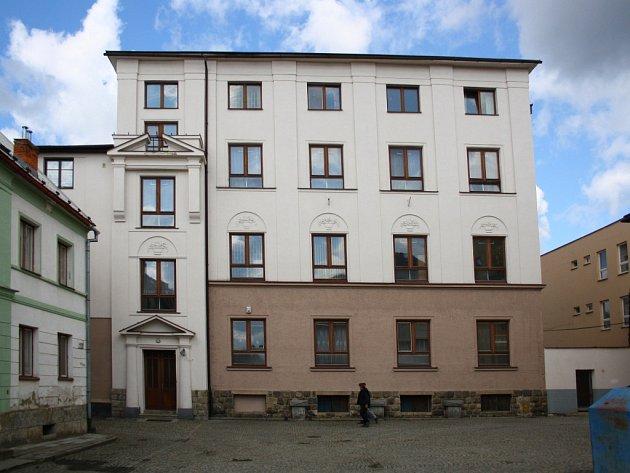 Areál výchovného Ústavu ve Vidnavě.