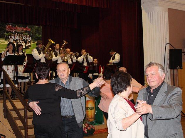 Koncert kapely Bludověnka.