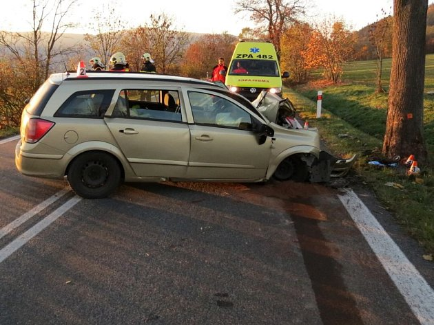 Tragická nehoda u Bukovic.