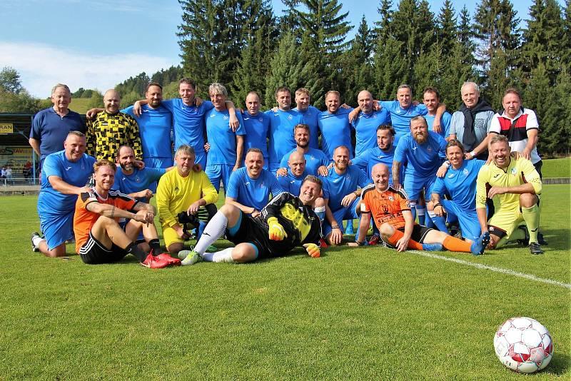 Fotbalové legendy se sešly o víkendu ve Velkých Losinách