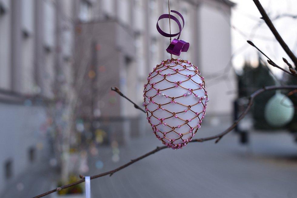 Velikonoční výzdoba v Zábřehu.