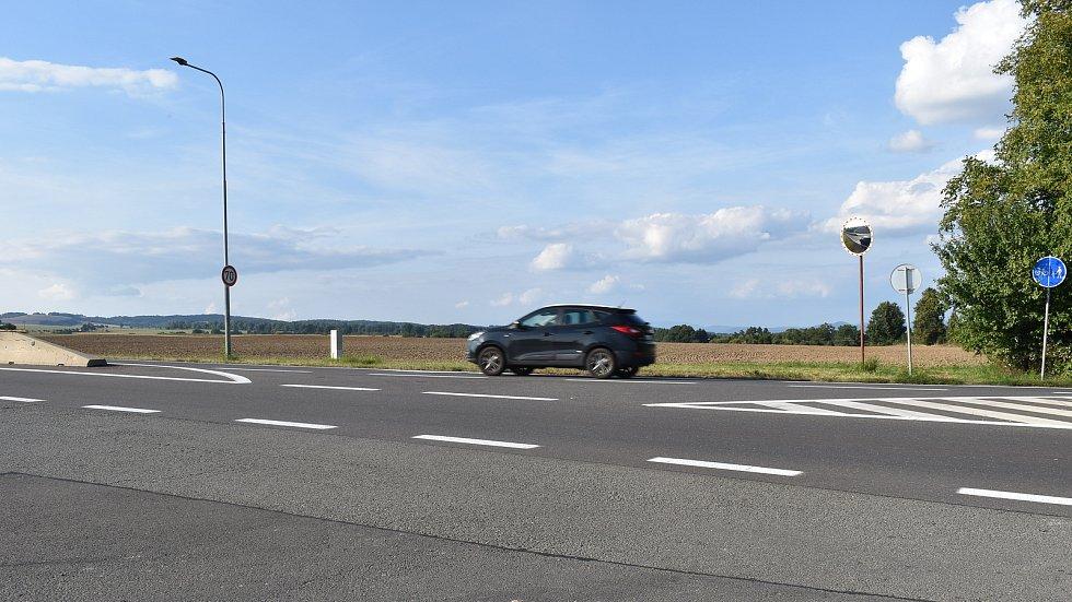 Na poli mezi Podolím a Křemačovem vznikne velká mimoúrovňová křižovatka Mohelnice - sever. Na ni bude v budoucnu napojena čtyřproudá silnice od Šumperku.