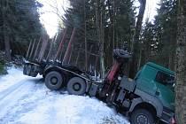 Nehoda v katastru obce Sobotín