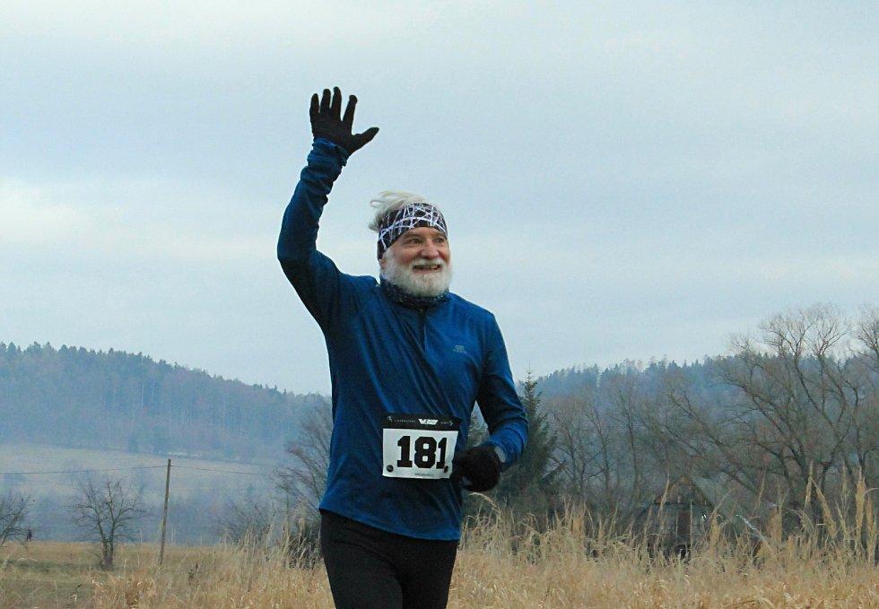 Silvestrovský běh přilákal závodníky všech věkových kategorií