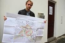 Architekt Ondřej Pchálek zpracoval vizi ideálního Zábřehu.