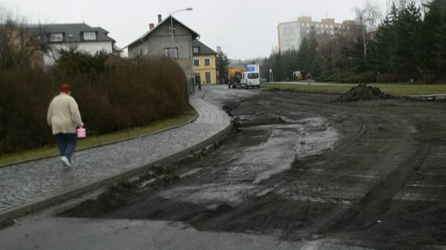 Zábřežská ulice v Mohelnici