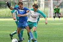 Leština porazila na úvod sezony Šternberk (modré dresy)