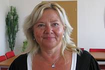 Starostka Lesnice Jana Plháková.