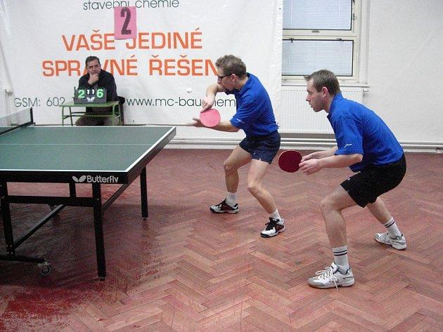 Stolní tenisté Šumperku bojují o postup.
