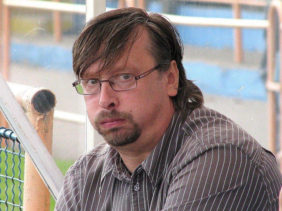 Trenér Uničova Zbyněk Strouhal