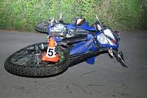 Na této motorce zahynul teprve sedmnáctiletý mladík