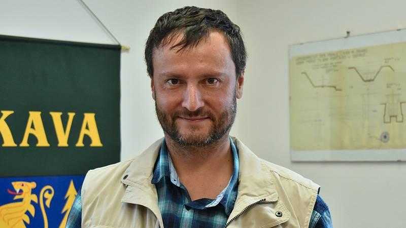 Starosta Oskavy Stanislav Hýbner.