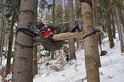 Závod Winter Survival v Jeseníkách