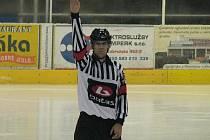 Hlavní arbitr utkání Jakub Smitka