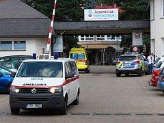 Jesenická nemocnice. Ilustrační foto