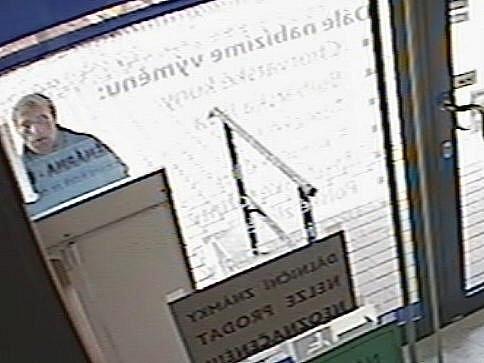 Snímky podezřelého