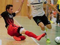 Futsalisté Jeseníku (v tmavé). Ilustrační foto